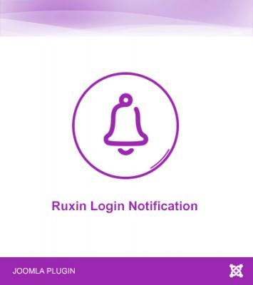 Ruxin Login Notification