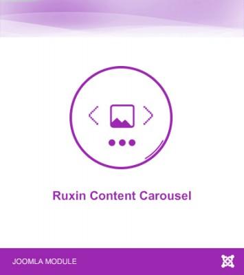 Ruxin Content Carousel