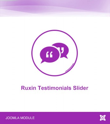 Ruxin Testimonials Slider