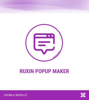 Ruxin Popup Maker